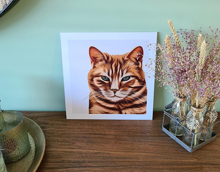 katten portret